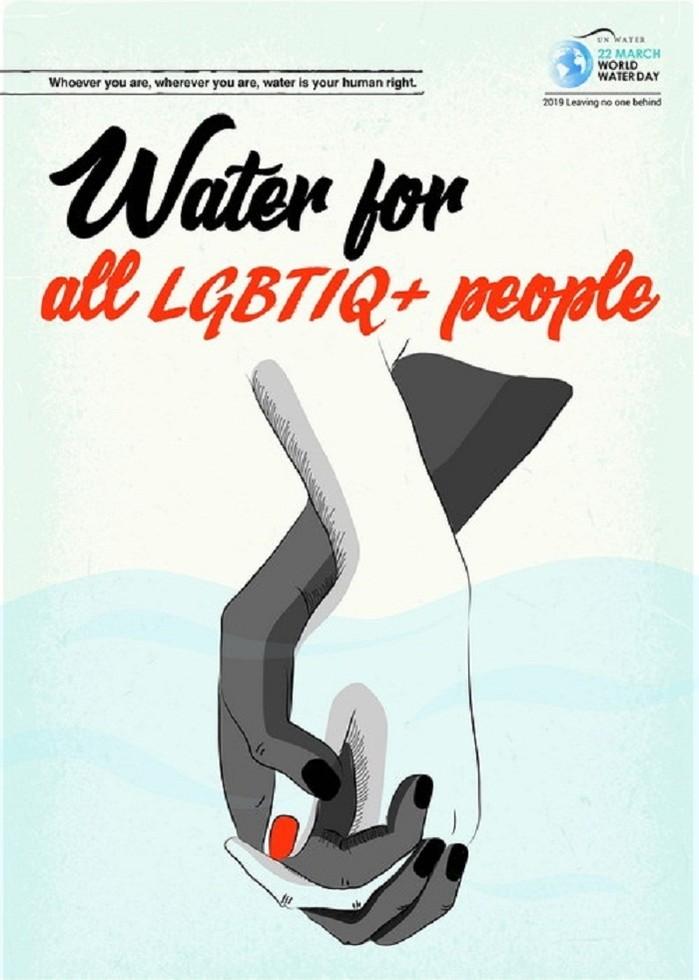 Dù bạn là ai, dù bạn ở đâu, nước là quyền con người của bạn